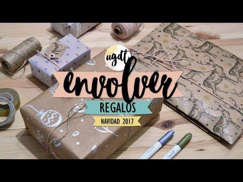 5 ideas para envolver regalos navideños - UGDT