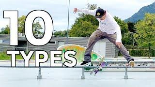 10 DIFFERENT WAYS TΟ TRE FLIP