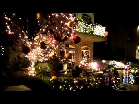 Christmas Lights in Naples, California 2012