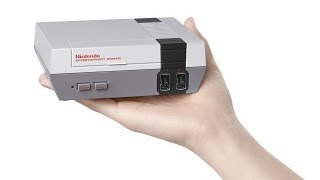 Nintendo Unveils The Classic Mini Loaded With 30 NES Games