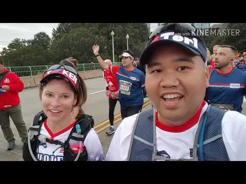 2018 Marine Corps Marathon from the Back of the Pack
