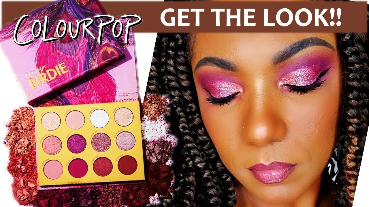 Bye Bye Birdie Eyeshadow Palette by Colourpop #6