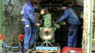 Unimog 406 - OM352 Motor Probelauf