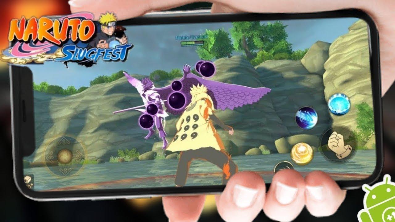 Naruto: Slugfest | Game Naruto 3D Đẹp Nhất Trên Điện Thoại | Top Game Hay Mobile Android, Ios