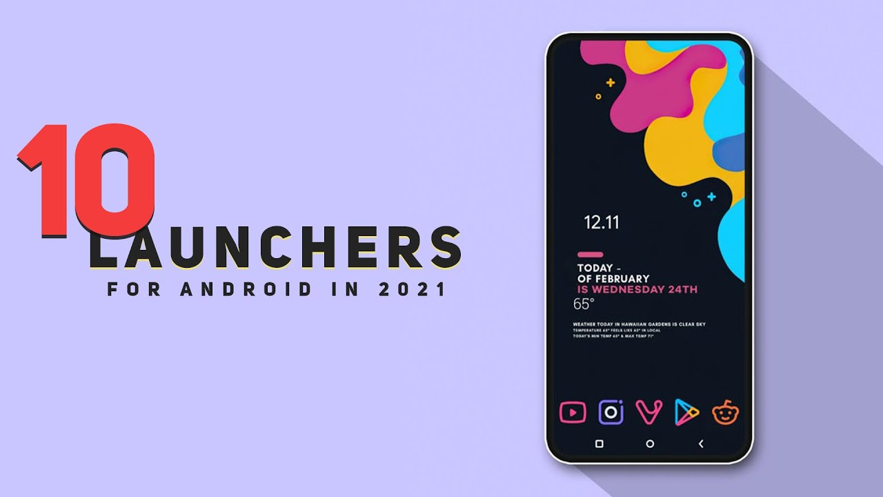 Top 10 SUPERB Best Launcher For Android 2021 | Best Android Launchers 2021