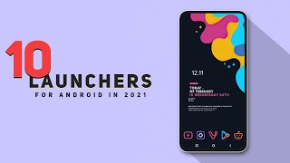 Top 10 SUPERB Best Launcher For Android 2021 | Best Android Launchers 2021 screenshot 4
