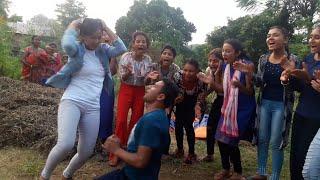 नाच्दा नाच्दै आबेग मा के भयो यस्तो @ New Nepali Sexy Live Dance @ 2076@2019