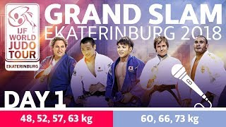 Grand-Slam Ekaterinburg 2018: Day 1