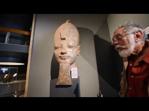 John Anthony West in The Luxor Museum - 2016