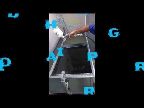 Pintura Hidrográfica - Tampa frontal Jet Ski