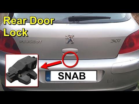 How to Replace the Rear Door Lock Mechanism – Peugeot 307 Hatchback