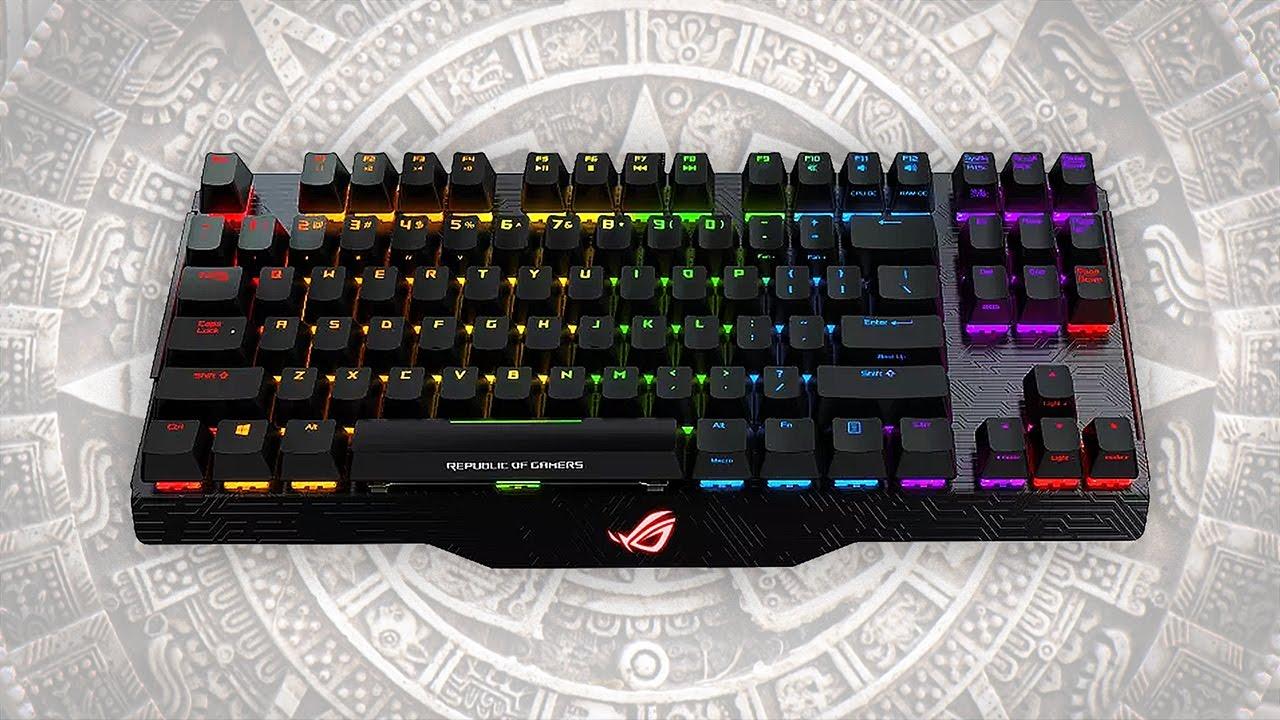 fe262a396ac8 El teclado más caro? Asus ROG Claymore Core Mecánico Cherry MX Red ...