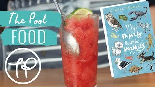 Watermelon Granita from My Family and Other Animals   Little Library Kitchen   Food   The Pool