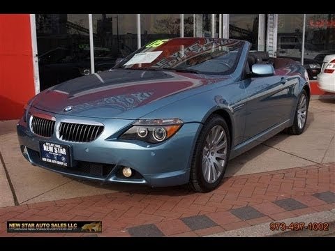 2005 BMW 6Series 645ci Convertible  YouTube