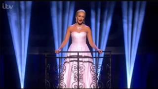 """Don't Cry For Me Argentina"" (Evita) Madalena Alberto on Sunday Night at the Palladium - ITV"