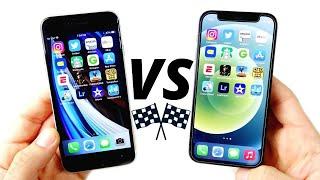 iPhone SE 2020 vs iPhone 12 Mini Speed Test