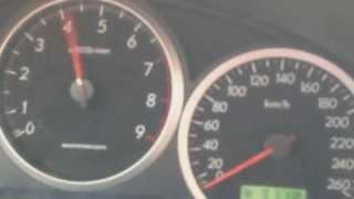 Subaru impreza wrx sti 0-100 На мокром асфальте.