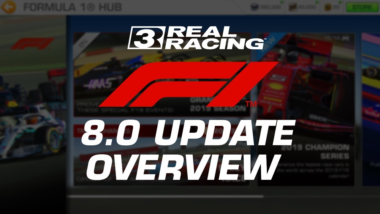 Real Racing 3 Formula 1 update overview