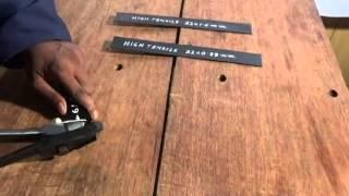 Manual Strap Cutter - SC 35