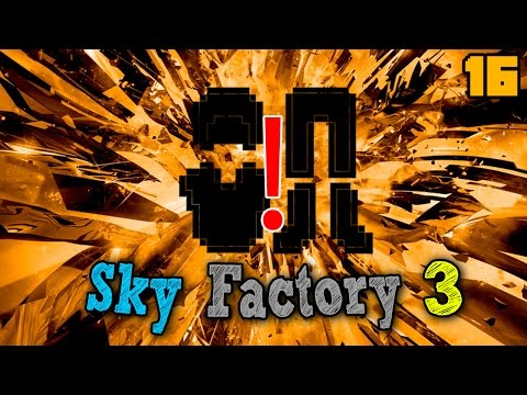 The LONG, PAINFUL Grind for Real Armor | Minecraft: Sky Factory 3 Ep. 16