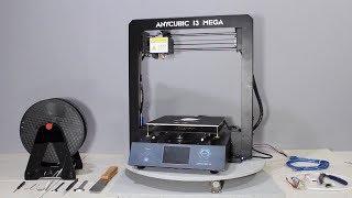Anycubic i3 Mega 3D Drucker Testbericht