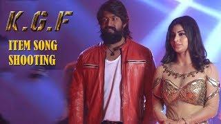 KGF: Gali Gali Video Song Shooting | Mouni Roy, Yash On location Shoot