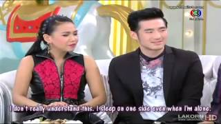 [ENG SUB] 3 Zaab 3แซ่บ (delicious) interview cut Boy Pakorn, Margie, Nong, Pat and Wonmai