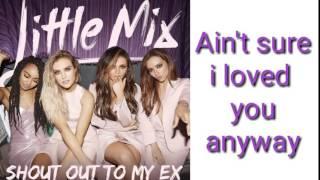 Shout out to my ex - Little Mix (Dueto/Duet) karaoke