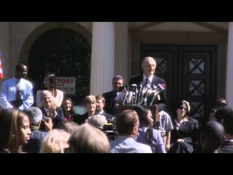 Vinick announces for president (The West Wing S06)