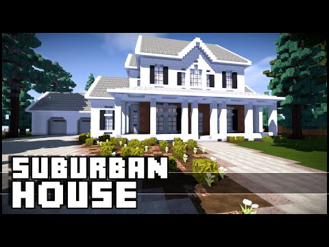 minecraft how to build small suburban house 3 part 1 funnycat