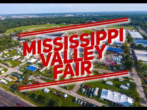 Mississippi Valley Fair From The Air