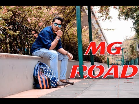 MG ROAD BANGALORE | VLOG | EXPLORE | [ CINEMATIC ] ..!