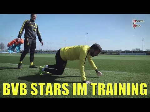 Kult Tuchel veräppelt BVB Spieler beim Training   Teil2