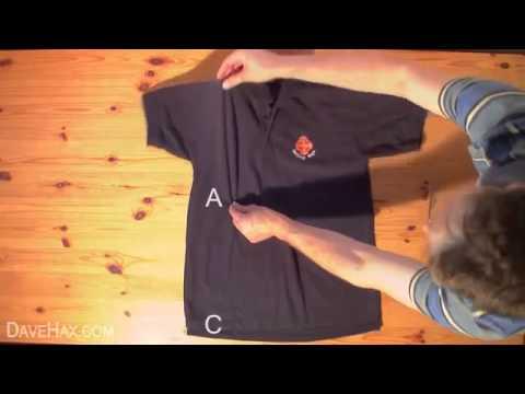 Cách gấp quần áo nhanh