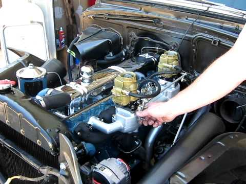 buick straight 8 running with dual carbs and dual smithy exhaust youtube. Black Bedroom Furniture Sets. Home Design Ideas