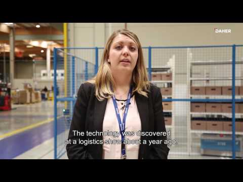Innovation by Daher : le DaherLab teste le picking semi-automatisé