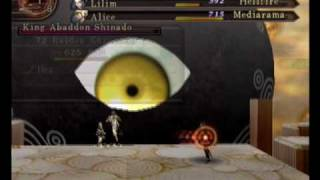 "SMT: Devil Summoner 2 - Final Boss  ""Shinado ~ Final Form"" (P02/02)"