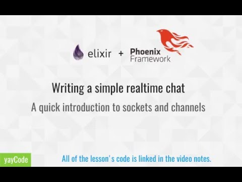 Elixir + Phoenix : Building a simple chatroom