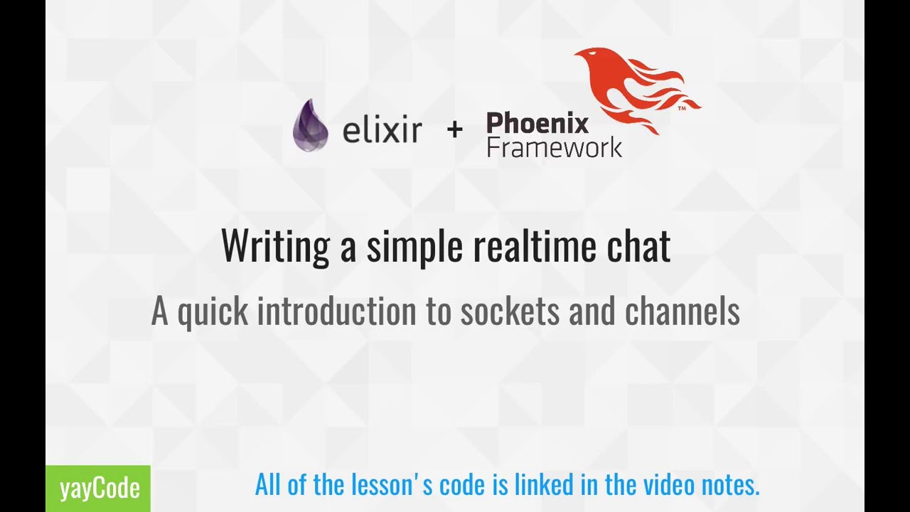 Elixir + Phoenix : Building a simple chatroom