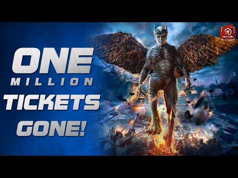 1 Million 2.0 tickets gone? Rajinikanth   Shankar   Akshay Kumar
