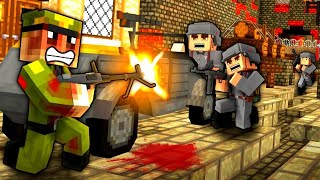 BATTLE TO RED ROAD! - Minecraft WW2 - S5E10 (Heroes & Generals)