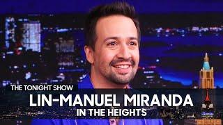 Лин-Мануэль Миранда в подростковом возрасте начала писать книги «В высотах» | Вечернее шоу