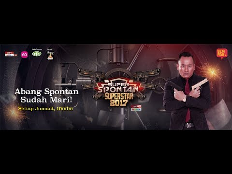 Super Spontan Superstar 2017 minggu 1 payung habis!