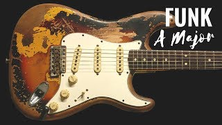 Funky Groove | Guitar Backing Track Jam in A