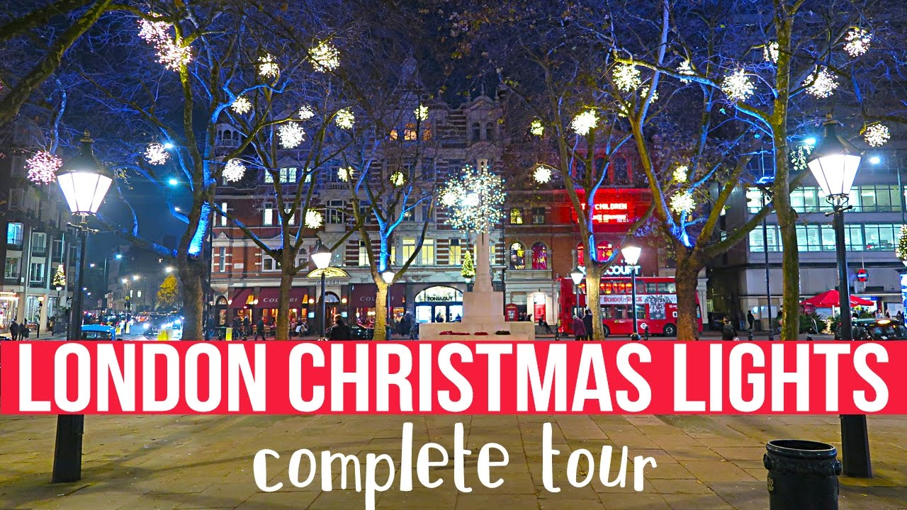 Christmas Tours.7 London Christmas Lights Tours In 2019 Including A Free