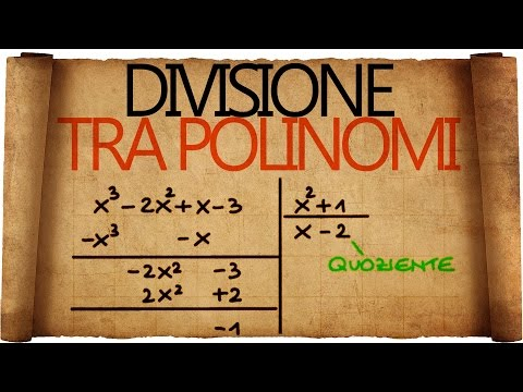 Divisione Tra Polinomi from YouTube · Duration:  9 minutes 43 seconds