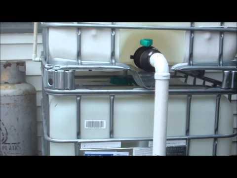 Water Storage Set Up!