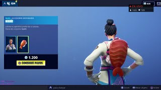 THE *NEW STORE* OF FORTNITE TODAY NOVEMBER 21 NEW SKINS *MAKINA* (OF THE BEST MOCHILAS)