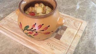 Курица с картошкой в горшочках: рецепт от Foodman.club