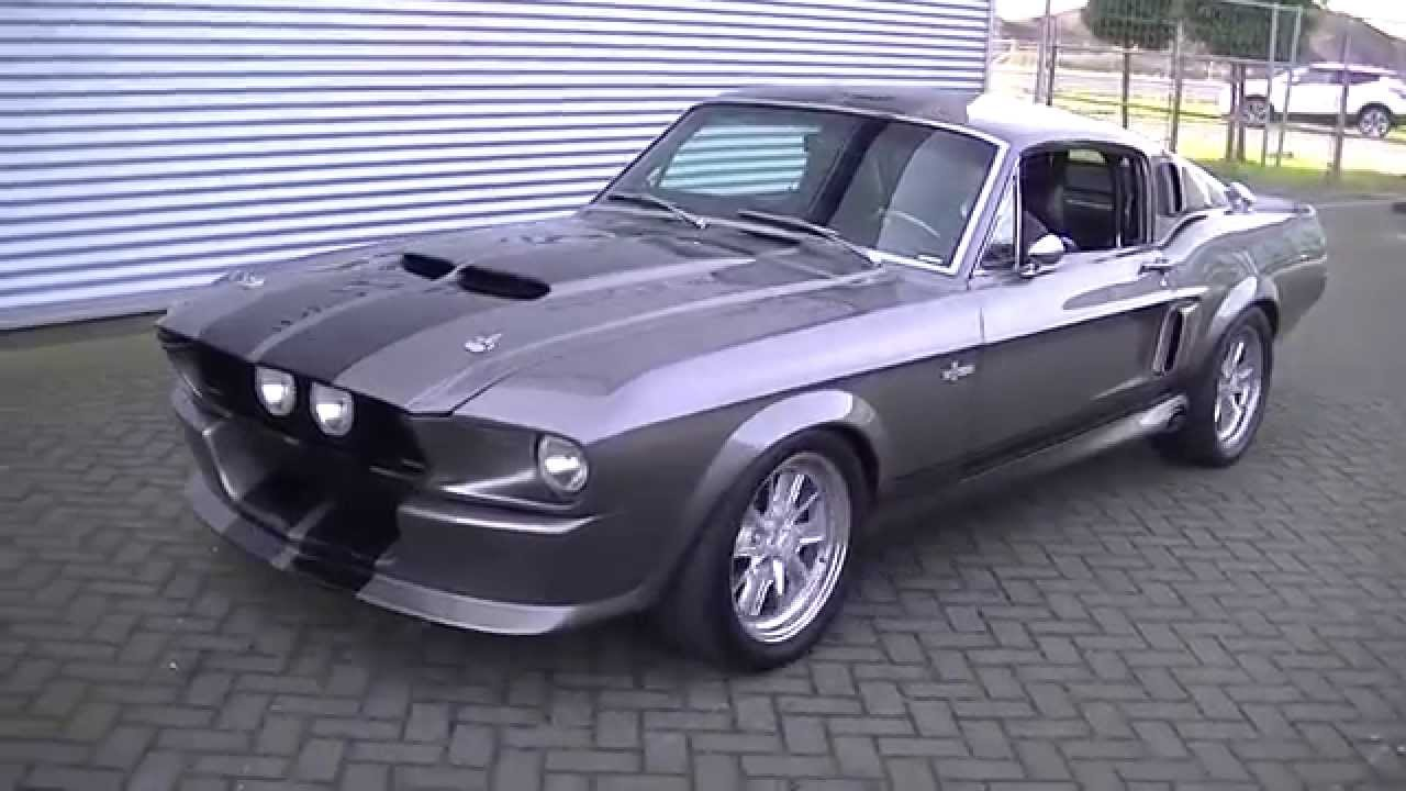 Ford mustang 1967 shelby gt500cr eleanor very good condition video www erclassics com youtube